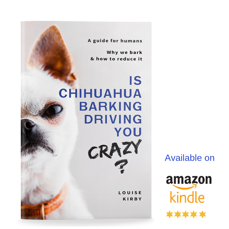 Is chihuahua barking driving you crazy? How to reduce chihuahua barking. Louise Kirby